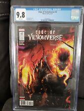 Edge Of venomverse # 3 Cgc 9.8 Ghost Rider Venomized