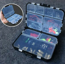 128pc Hard Metal Fishing Lures Small Minnow Lure Bass Crank Bait Tackle Hooks ZH