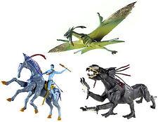 James Cameron's Avatar Movie Loose Jake's Banshee + Direhorse +Thanator Toy Lot