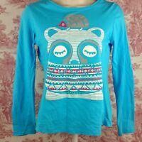 Arizona Jean Co. Women's Knit Top Long Sleeve Pullover Size XL 14/16 Blue