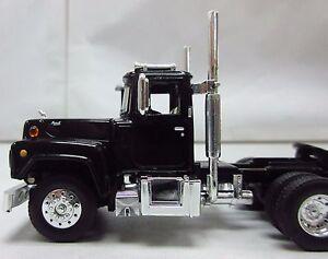 1st Gear, 1/64th scale R Model MACK Black
