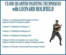 CLOSE QUARTER FIGHTING TECHNIQUES TRAINING SERIES (6) DVD SET army combat