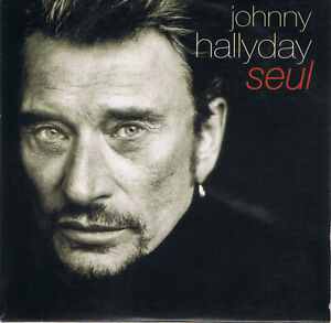 JOHNNY HALLYDAY - Seul - CD-promo