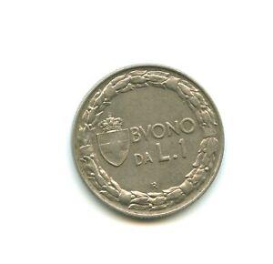 Italie 1 lire 1924 R n°E2515