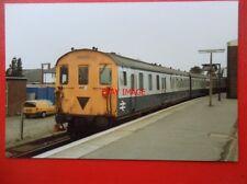 PHOTO  CLASS 205 DMU NO 205023 AT ASHFORD RAILWAY STATION