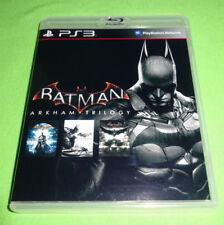 Empty Replace Cases! PS3 Batman Trilogy Arkham Origins Arkham Asylum Arkham City