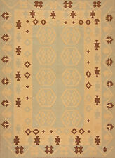 Tappeto orientale Intrecciato a mano Afghanistan Kilim no. 3312 241x177 cm Ponte