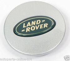 LAND ROVER DISCOVERY 2 1998>04 ALLOY WHEEL SILVER CENTRE CAP - 63MM-LR001156