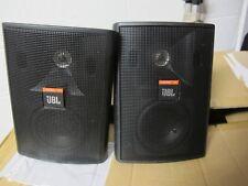 2x PROFESSIONAL JBL Control 23T BLACK Ceiling / Wall Indoor / Outdoor Speakers