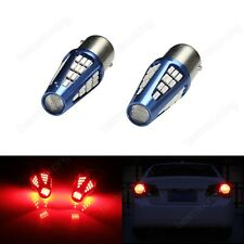 2x 48 SMD LED 1156 BA15s R10W R5W RED Stop Tail Brake Turn Signal Car Light Bulb