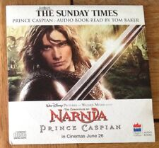 AUDIO BOOK CD - THE CHRONICLES OF NARNIA - PRINCE CASPIAN - NEWSPAPER PROMOTION