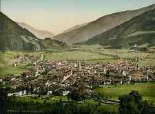 Tirol. Brennerbahn. Sterzing. (AUTRICHE) PZ vintage photochromie, photochrom p