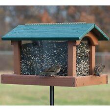 Woodlink Going Green Recycled Plastic Tall Hopper Feeder GGPRO4 Bird Feeder NEW