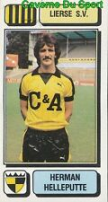 172 HERMAN HELLEPUTTE BELGIQUE LIERSE.SV STICKER FOOTBALL 1983 PANINI