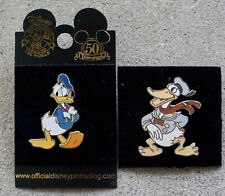 Disney Donald Duck 2004 & Magical Moments LE 2500 Christmas DLR Trading Pin Set