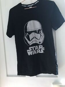 Star Wars Storm Trooper t shirt. Black with graphic. Size Small