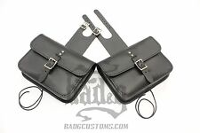 Harley DYNA Throw Under Seat Cover Bags - DTU02 BAD&G CustomS