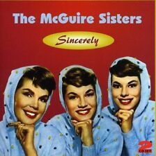 THE MCGUIRE SISTERS - SINCERELY 2 CD NEW+