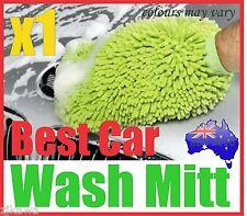 1x MICROFIBRE CAR HOME WASH CLEANING MITT GLOVE POLISHING CLOTH DUSTER