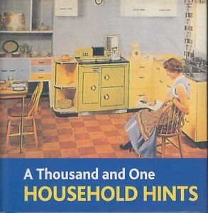 Thousand And One Household Hints (Book Block Treasury Series!)