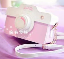 Kawaii Lolita Camera shape Shoulder Bag Pink Handbag Messenger Bag Crossbody Bag