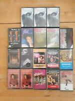 audio music cassette tapes bundle joblot x 18 as pictured mct20