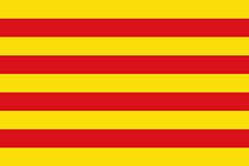 CATALONIA FLAG 5' x 3' Catalan Spain Spanish Catalonian Flags