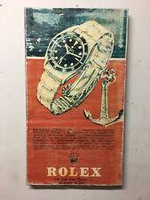 Rolex Vintage 6538 submariner ad Art  Distressed design for home decor
