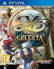 Ys: Memories of Celceta (PS Vita) - BRAND NEW & SEALED UK