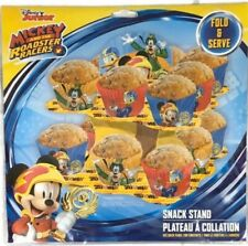 Mickey and The Roadster Racers Snacks Stand (holds About 16 Baked Goods)New