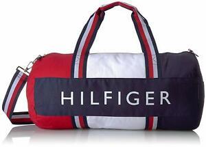 Tommy Hilfiger Sporttasche, Duffle Bag, Reisetasche, Canvas,