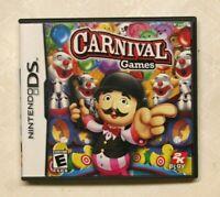Carnival Games - Complete CIB (Nintendo DS, 2008) Complete CIB