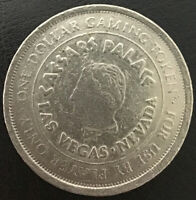 $1 SLOT TOKEN COIN Caesars PALACE CASINO Las Vegas NV Nevada GAMING V2
