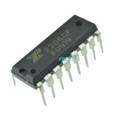 2pcs Exar Xr2206 Xr2206cp Monolithic Function Generator Ic 16 Pin Dip