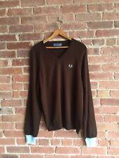 Fred Perry X Comes Des Garçons Men's Sweater Sz Medium Italy