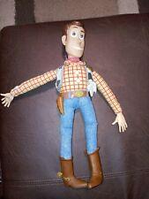 "Toy Story 1995 Thinkway Original 16"" Woody Doll. Still talks well. No Hat."