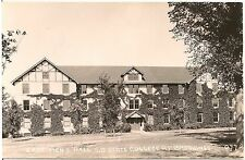 East Men's Hall at South Dakota State College in Brookings SD RP Postcard