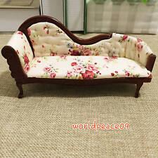 Dollhouse Miniature Elegance Couch Streamline Sofa 1:12 Scale Model A