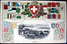 SWITZERLAND~Schweiz~ 1900's LUZERN ~ WAPPEN ~ BRIEFMARKEN ~ STAMPS & MORE !