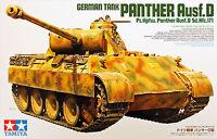 Tamiya 35345 German Panther Ausf.D Sd.Kfz.171 1/35 scale kit