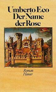 Der Name der Rose von Umberto Eco | Buch | Zustand gut