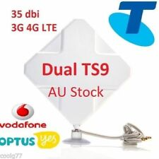 35dBi 4G LTE ANTENNA Telstra Netgear Sierra AirCard 782S Smart Cradle TS9 plug