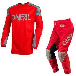 ONeal Matrix Motocross Suit 2021 Red MX Off Road Track O Neal Jersey Pants
