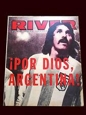 FIFA WORLD CUP ARGENTINA 1978 Original RIVER Magazine May 1978