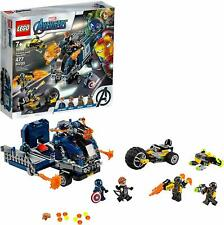 New Lego Marvel Super Heroes 76143 Avengers Truck Take-down
