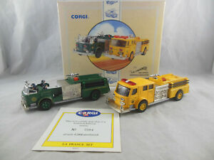 Corgi Classics 97331 The La France Fire Vehicles Set Scottdale & South River