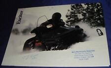 BS284 Vtg Yamaha Snowmobile Dealer Sales Brochure 1987