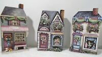 Duke Street Collectibles Store Fronts(Craft ,Carousel & Doll) Set of 3 Art Wall