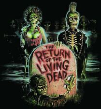 RETURN OF THE LIVING DEAD T shirt 80'S CULT HORROR MOVIE FUNNY ZOMBIES COMEDY