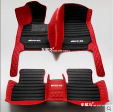 Hot For Mercedes-Benz 2004-2020 Waterproof Front & Rear Car Floor Mats Black RED